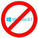 Post image for Microsoft suspende temporalmente la actualización a Windows 8.1